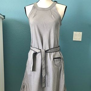 G-star Lori A-LIne Belted Dress with Pockets EUC!